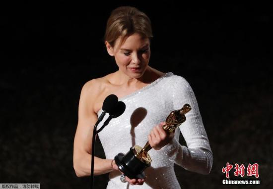 Renee Zellweger wins Oscars Best Actress Award for 'Judy'