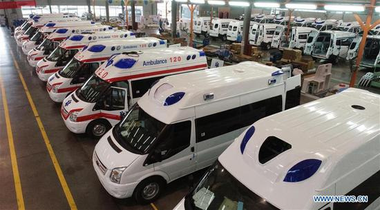 Motors company rushes to produce negative pressure ambulances for fight against epidemic