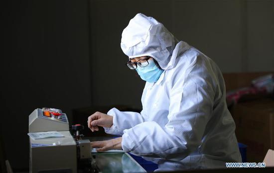 随着恢复工作,中国口罩生产开始复苏