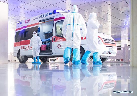 图片:随州的医务工作者