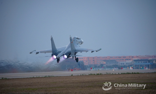 PLA conducts drills near Taiwan island for 2 days in a row