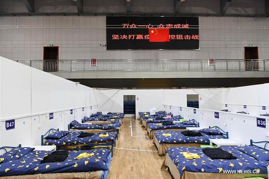 武汉设立两家临时医院的基本设施