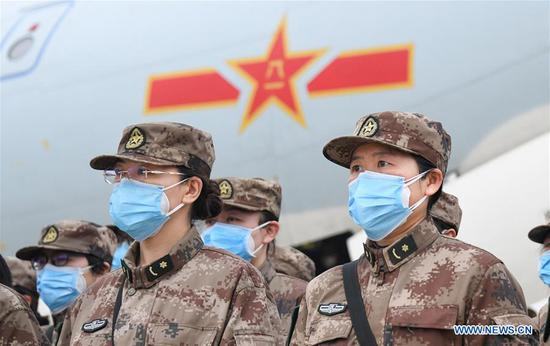 2,600 more military medics dispatched to assist coronavirus-hit Wuhan
