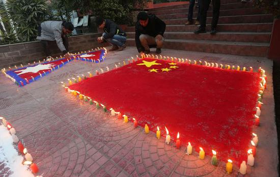 Nepali people express support for China in fight against novel coronavirus