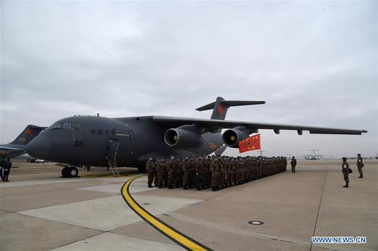 Massive PLA airlift sends help to Wuhan