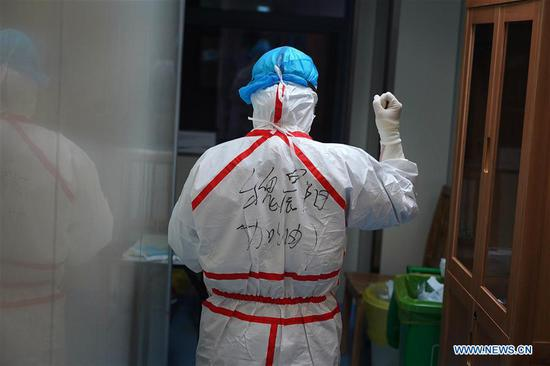 Medical workers engaged in combat with epidemic in Jiangxi