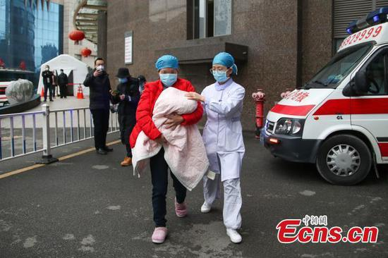 67-day-old coronavirus patient discharged from hospital in Guizhou