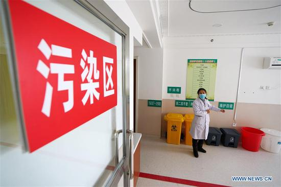 Renovation of designated hospital for treating COVID-19 patients in Heilongjiang completed