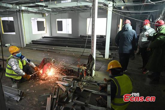 北京市小塘山医院正在装修