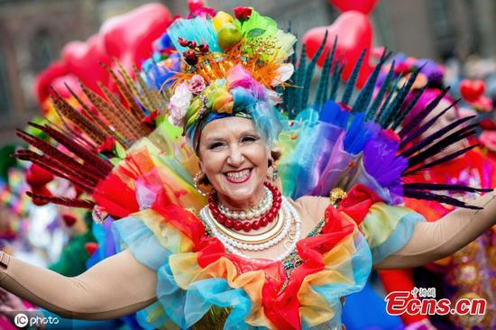 In pics: Carnival parade in Germany