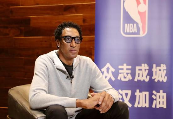 NBA legend Scottie Pippen voices support for China in battle against virus outbreak