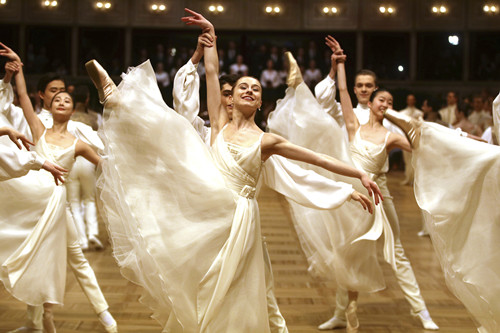 In pics: Dress rehearsal for Vienna's traditional Opera Ball