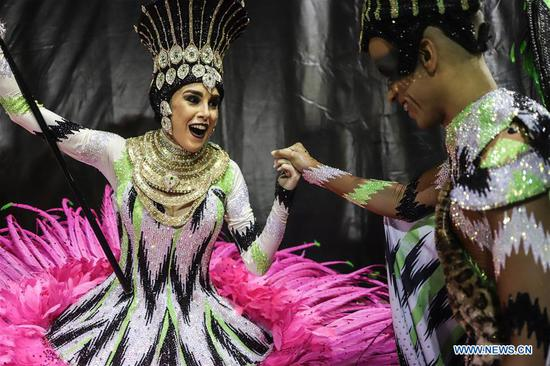 Sao Paulo Carnival pays tribute to history, cultural diversity