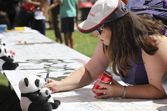 Australians voice support for Chinese combating coronavirus at National Multicultural Festival