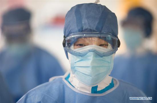 Pic story: head nurse on frontline of epidemic fight