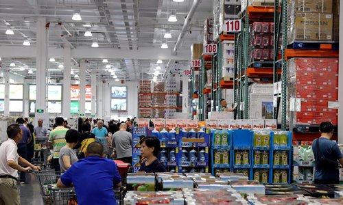 Shanghai Costco store restricts number of shoppers amid COVID-19
