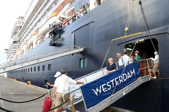Cambodian PM says all Westerdam passengers return home after testing negative for COVID-19