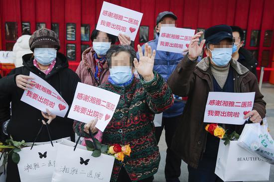 China cures cumulative 36,000 COVID-19 patients