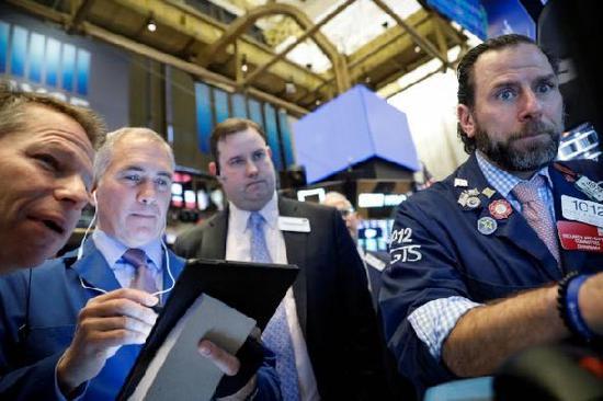 U.S. stocks close sharply lower amid rising risk aversion