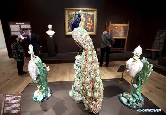 纽约大都会艺术博物馆设计的英国装饰艺术画廊重新开放