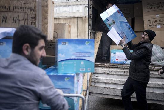 China's envoy contributes 250,000 masks to Iran over COVID-19 outbreak