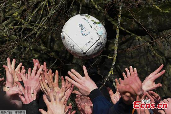 Ashbourne Shrovetide football: Tradition keeping brutal origins of the beautiful game alive