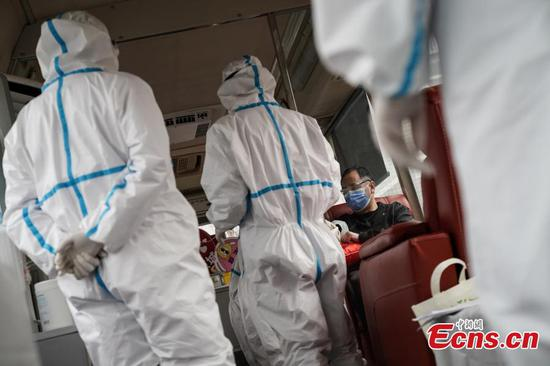 Recovered patients of coronavirus infection donate plasma in Beijing