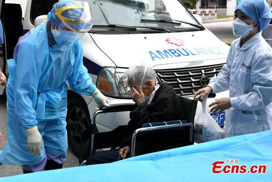 93-year-old coronavirus patient cured in Fuzhou
