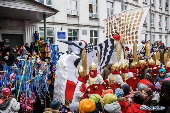 Maslenitsa celebration held in Moscow to mark beginning of spring