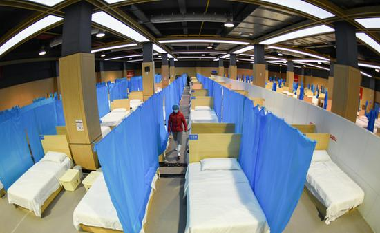 Wuhan has thousands of spare beds in makeshift COVID-19 hospitals