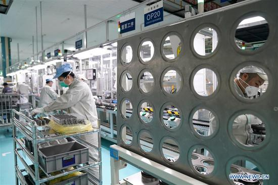64 percent of enterprises resume production in Harbin