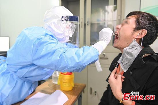 Outpatient department set up for recovered patients in Guangzhou
