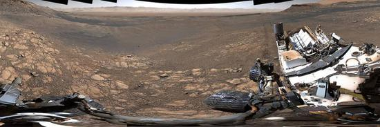 NASA's Curiosity Mars rover snaps its highest-resolution panorama yet