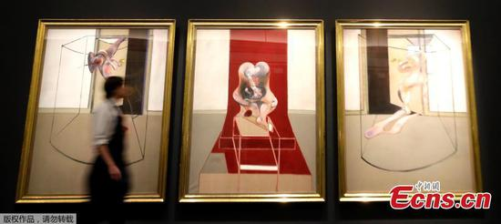 Francis Bacon's Triptych to be auctioned in May