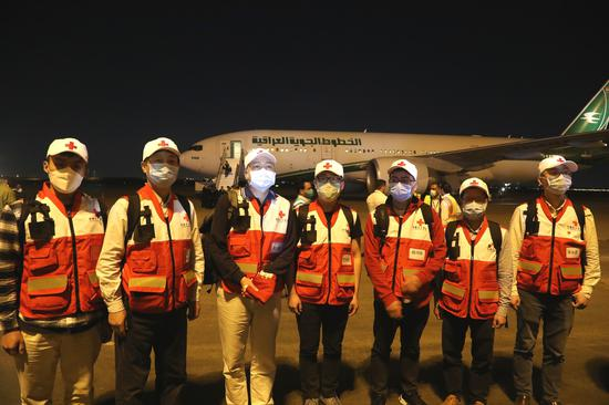 Team arrives in Iraq to aid fight against virus spread
