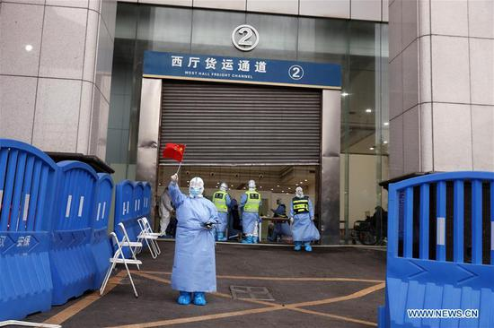 14 temporary hospitals closed in China's Wuhan