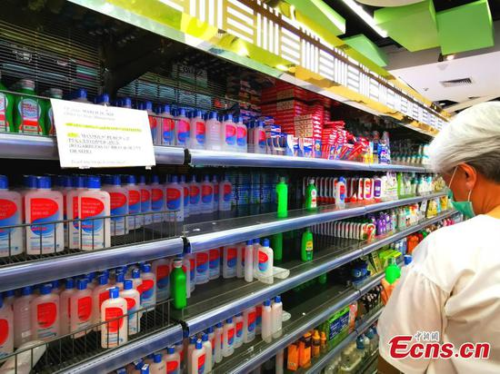 Coronavirus fears prompt panic buying in Manila