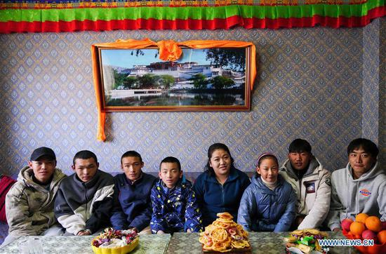 In pics: 'mother' of 22 children in Tibet