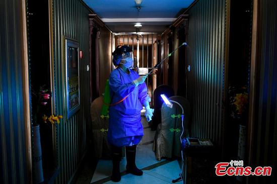 Quarantine center set up in Taiyuan for travelers returning from overseas countries