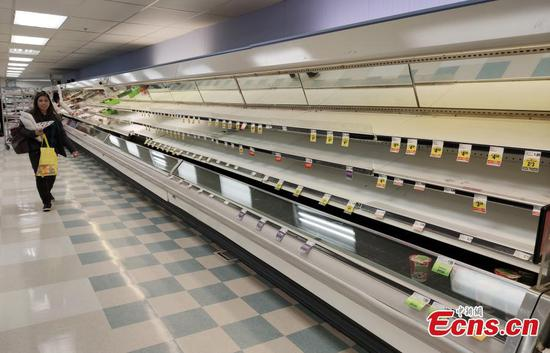 Shelter-in-place order leds to panic buying in San Francisco supermarket