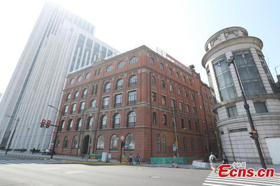Urgent repairs needed after cracking at historical building in Shanghai