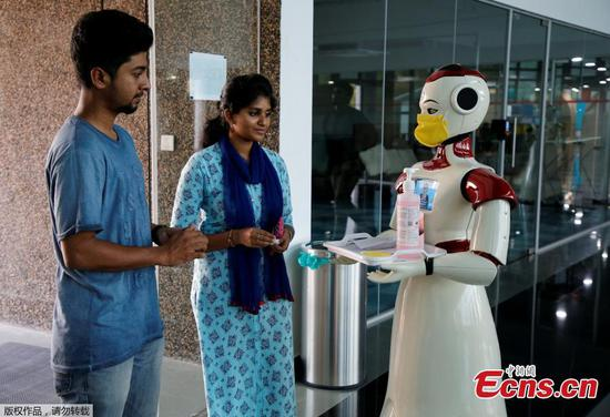 Coronavirus: Robots introduced for awareness campaign in India