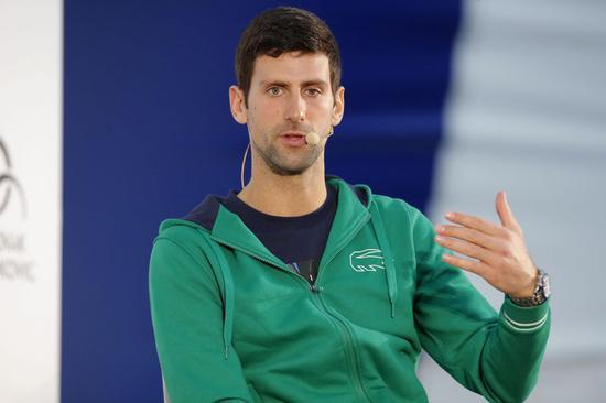 Djokovic thanks China for helping Serbia fight coronavirus
