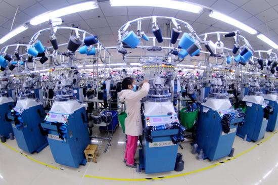 Industries resume production in China