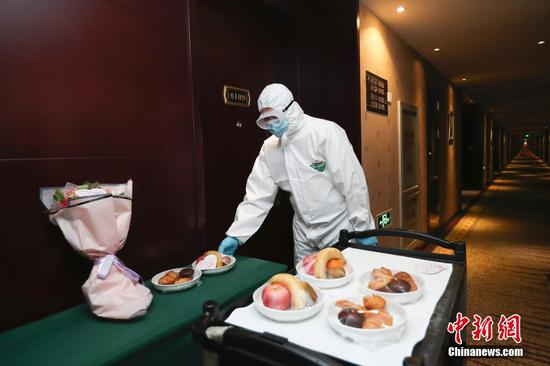A glimpse of designated quarantine hotels in Beijing