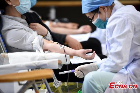 Efforts ramp up on blood donation in Beijing