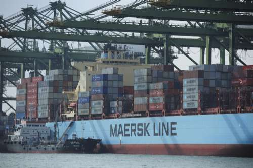 Crew of Maersk ship tests positive