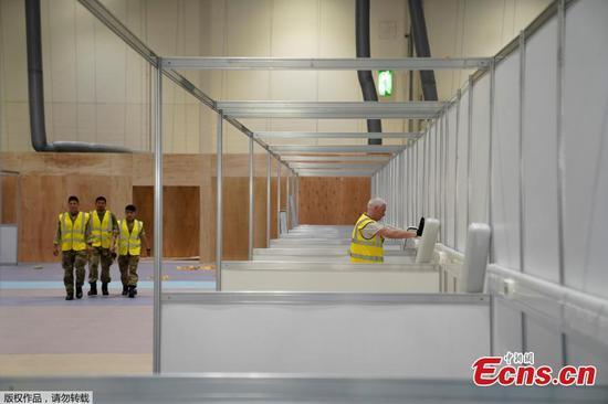 NHS夜莺水果机将在伦敦ExCel中心开业