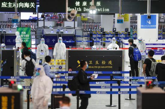 Imported cases remain vast majority in new coronavirus infections