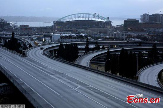 In pics: Seattle under coronavirus containment measures